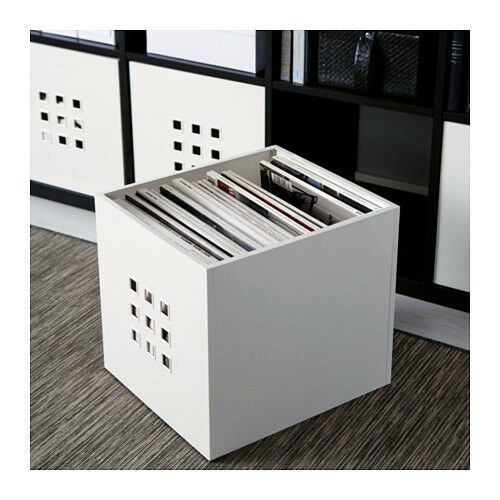 ikea storage box shelf unit 1pk to 4 pk lekman organizer boxes free shipping new ebay. Black Bedroom Furniture Sets. Home Design Ideas
