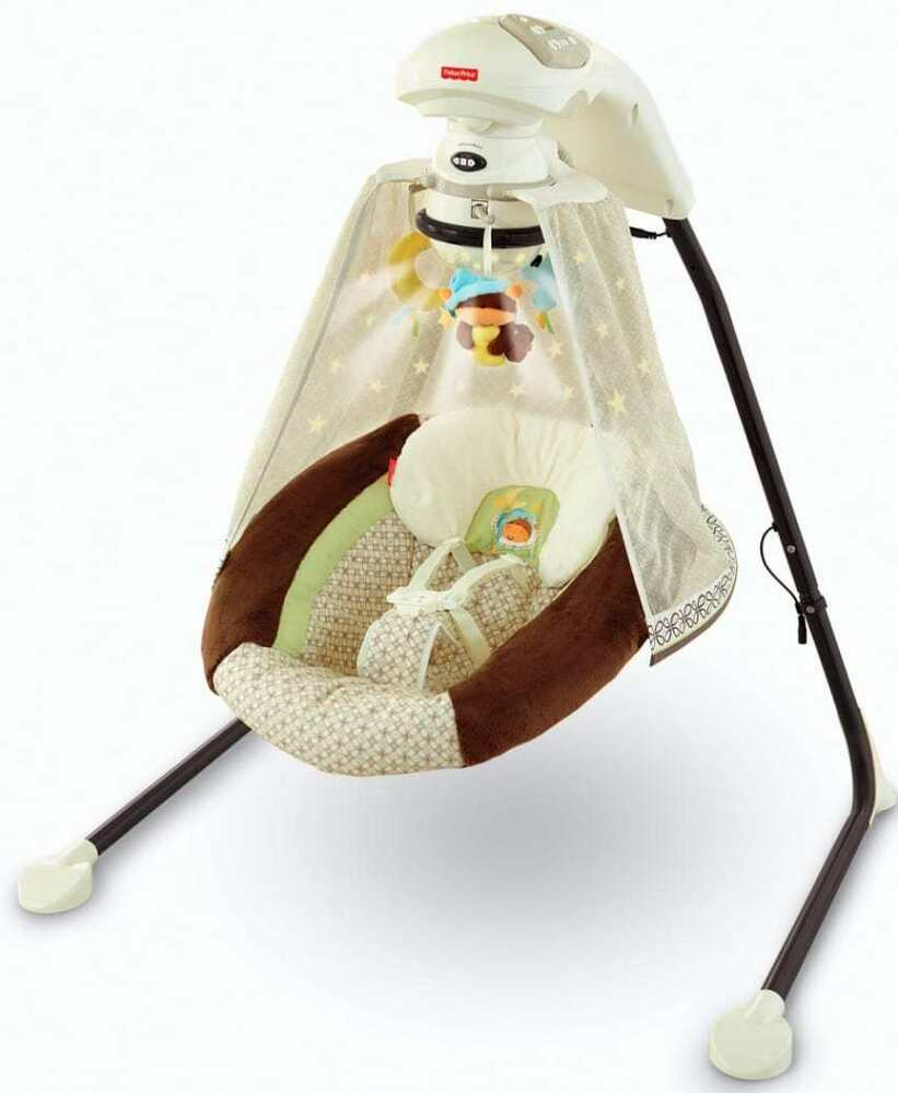 Fisher Price Starlight Papasan Cradle Swing Nite Nite