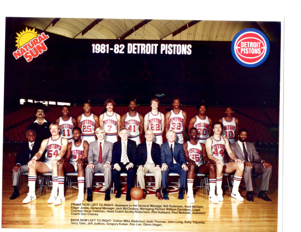 Birth of The Bad Boys  Detroit Pistons 1981-      - Grey Dog Software 8f378990b