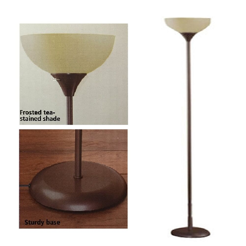 Modern floor lamp living room light shade 71 home office for Living lighting floor lamps