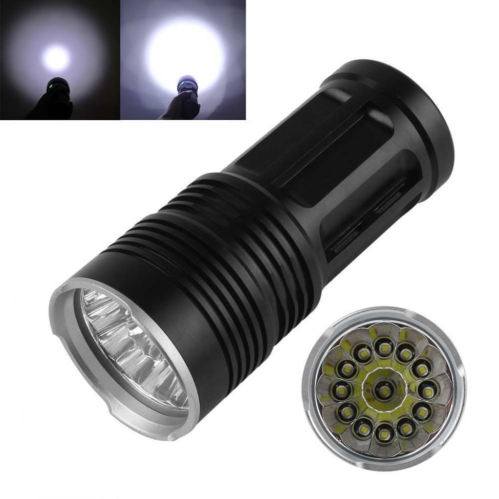 SKYRAY 38000LM 14 x CREE XM-L T6 LED Hunting Torch Lamp 4 ...