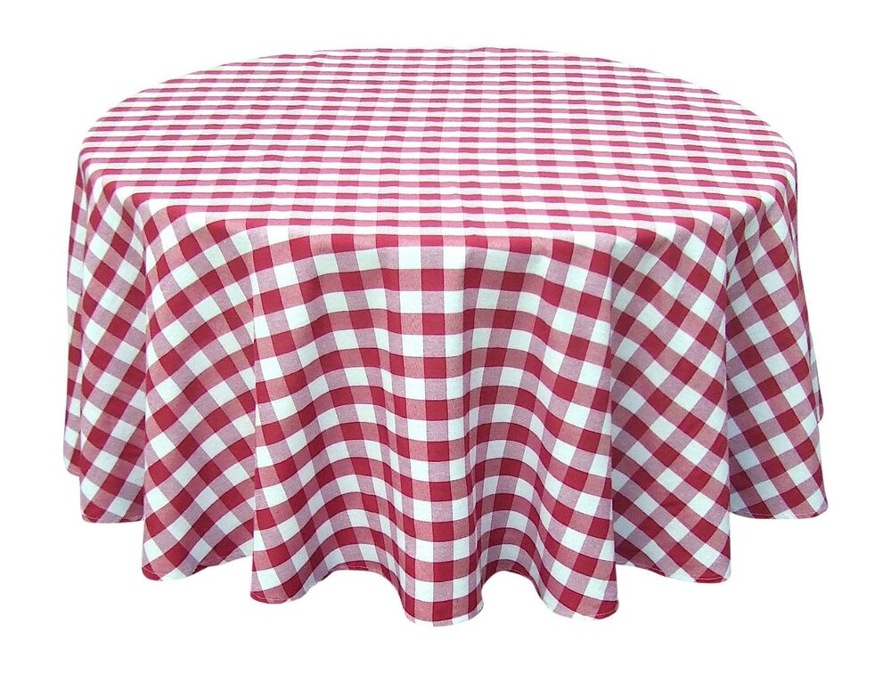 Wine Red White Tablecloths Gingham Checkered Design 70  : s l1000 from www.ebay.com size 1000 x 757 jpeg 135kB