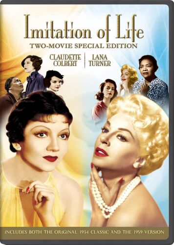 IMITATION OF LIFE (1934 & 1959 versions) -  DVD - REGION 1 - Sealed
