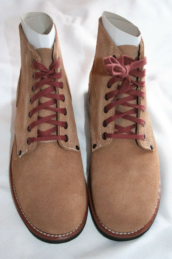 US WW2 Rough Out Ankle Boots Repo