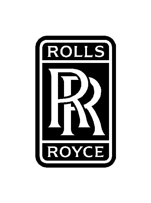 rolls royce logo vinyl decal car window laptop emblem. Black Bedroom Furniture Sets. Home Design Ideas
