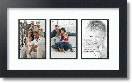 Arttoframes Collage Mat Picture Photo Frame 3 4x6 Openings In