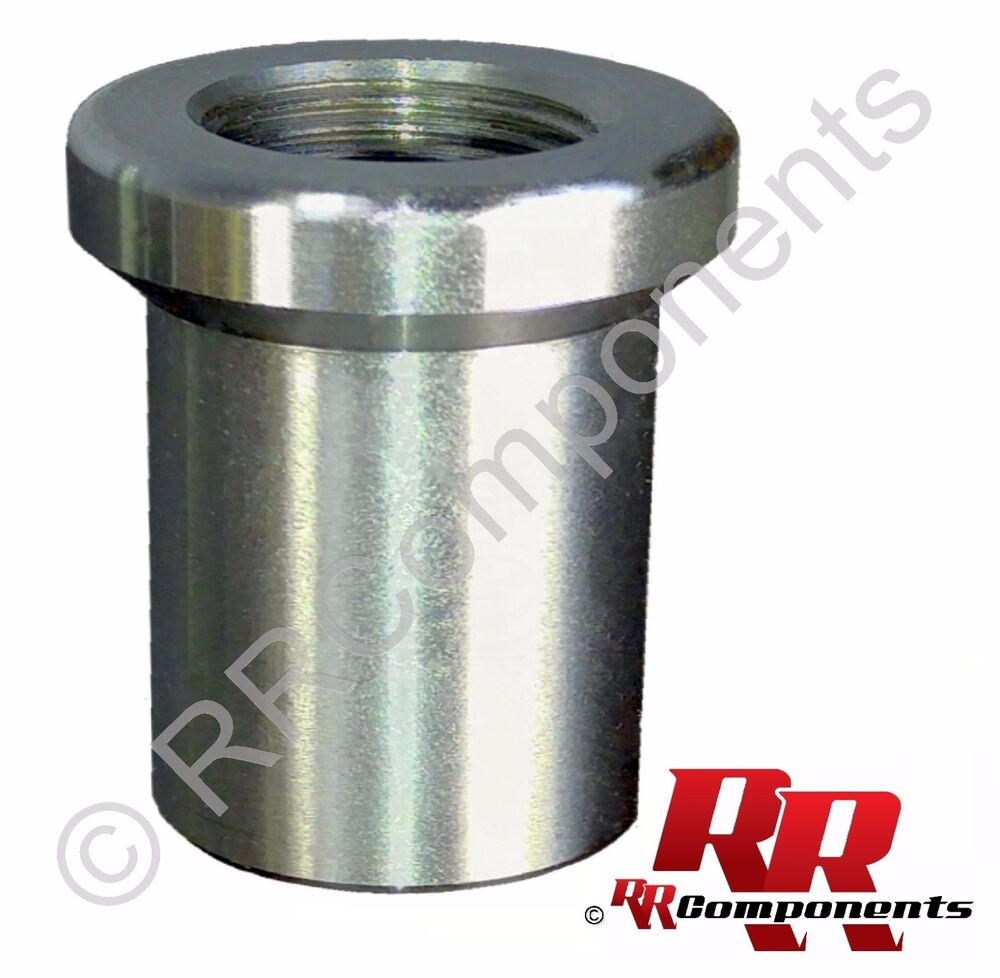 Rh quot threaded tube adapter fits id hole