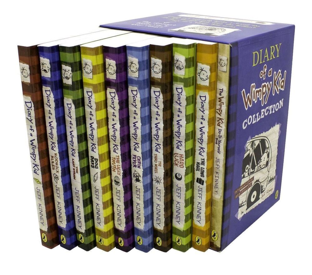 Where Is The Book Diary Of A Wimpy Kid Set