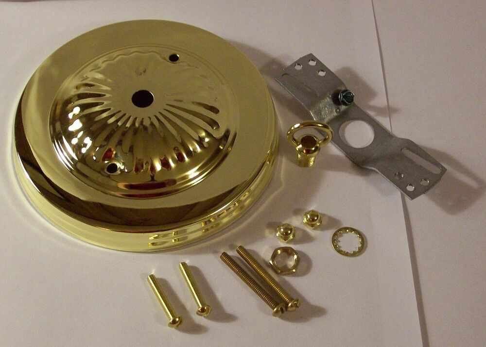 5 Quot Brass Plated Ceiling Canopy Kit For Light Fixtures Lamp