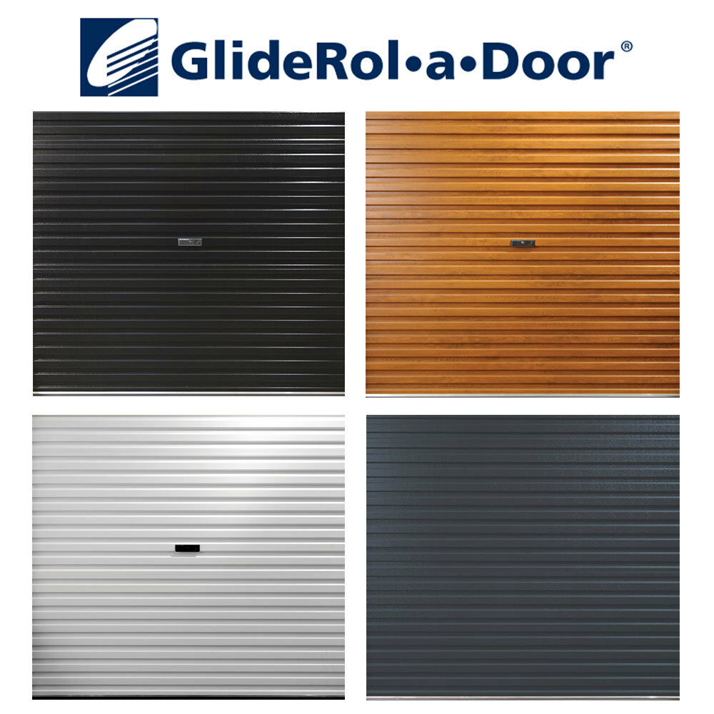 Gliderol roller shutter garage door 3048mm x 2135mm 10ft for How wide is a garage door
