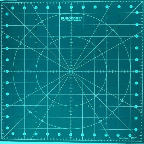 12 Quot X 12 Quot Green Rotating Cutting Mat Rm 0120 For Fabric