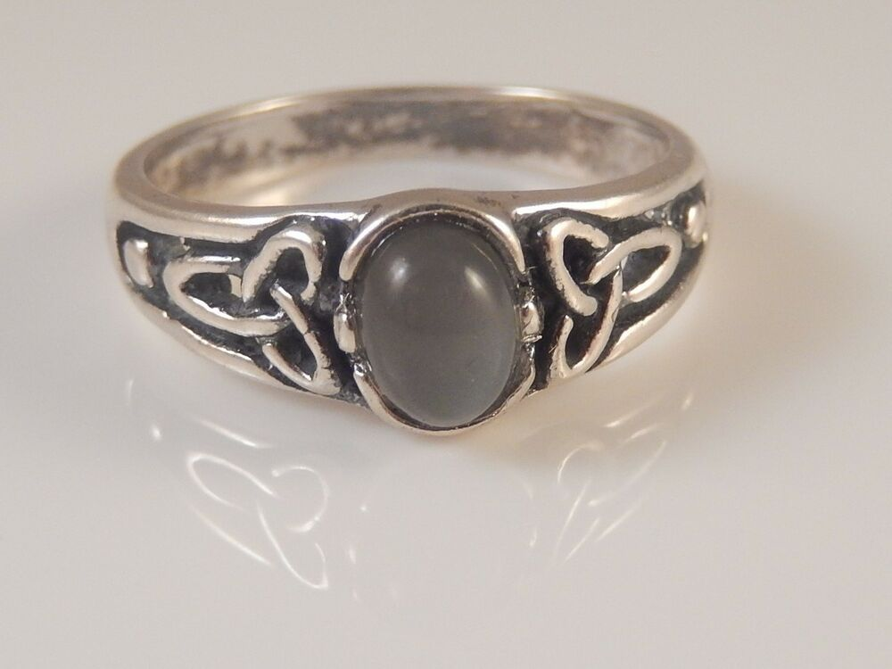 Celtic Triquetra Ring .925 Sterling Silver Trinity knot ...