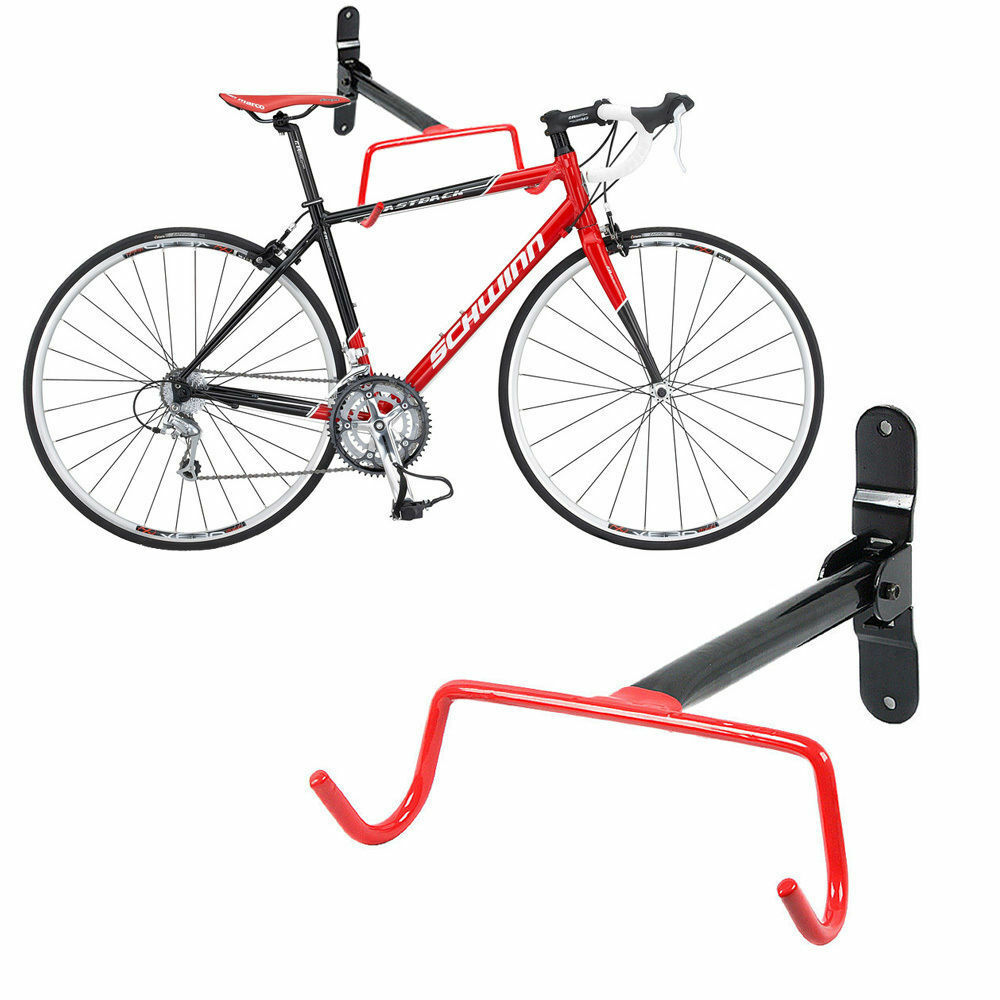 garage parete bicicletta mtb storage rack hook holder viti di montaggio ebay. Black Bedroom Furniture Sets. Home Design Ideas