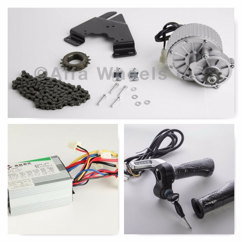 Pd750 Electric Motor Kit: 450W 36 Volt Electric Motor Conversion Kit F Bicycle Rear