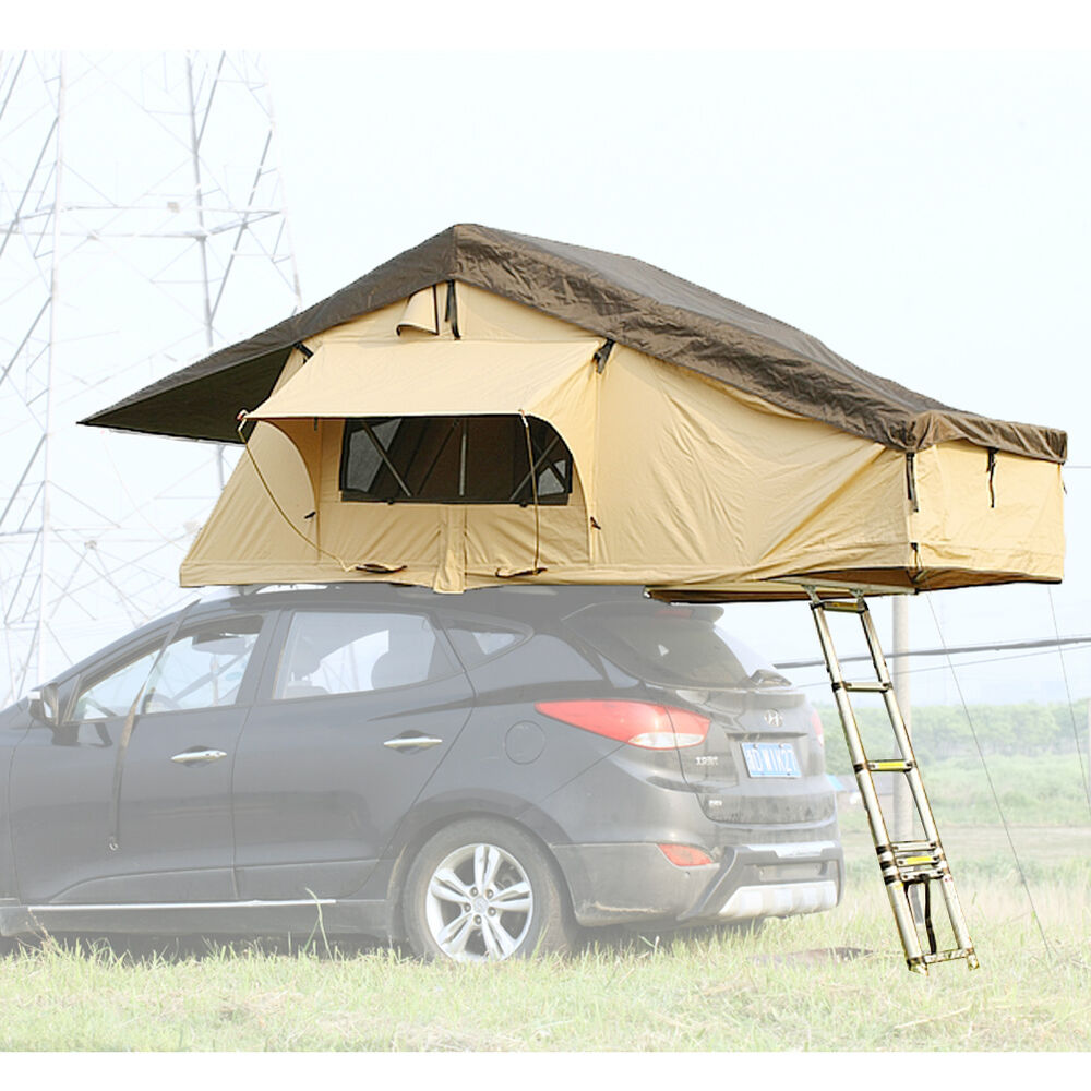 Small Car Shelter : Rooftop tent suv car vehicle truck jeep folded family