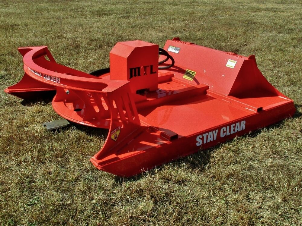 2017 80 Quot Mtl Extreme Skid Steer Brush Cutter 3 Blade