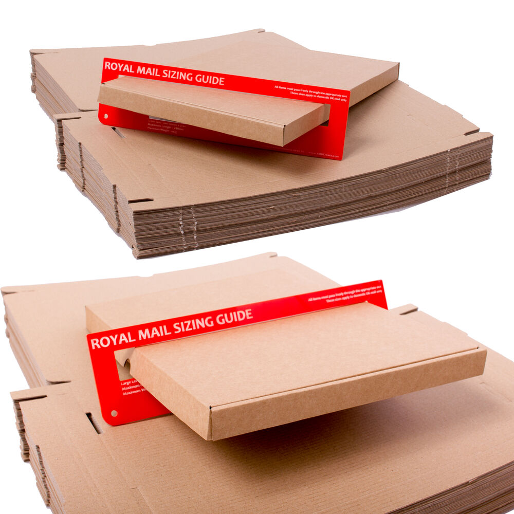 C4 A4 Size Box Large Letter Strong Cardboard Shipping