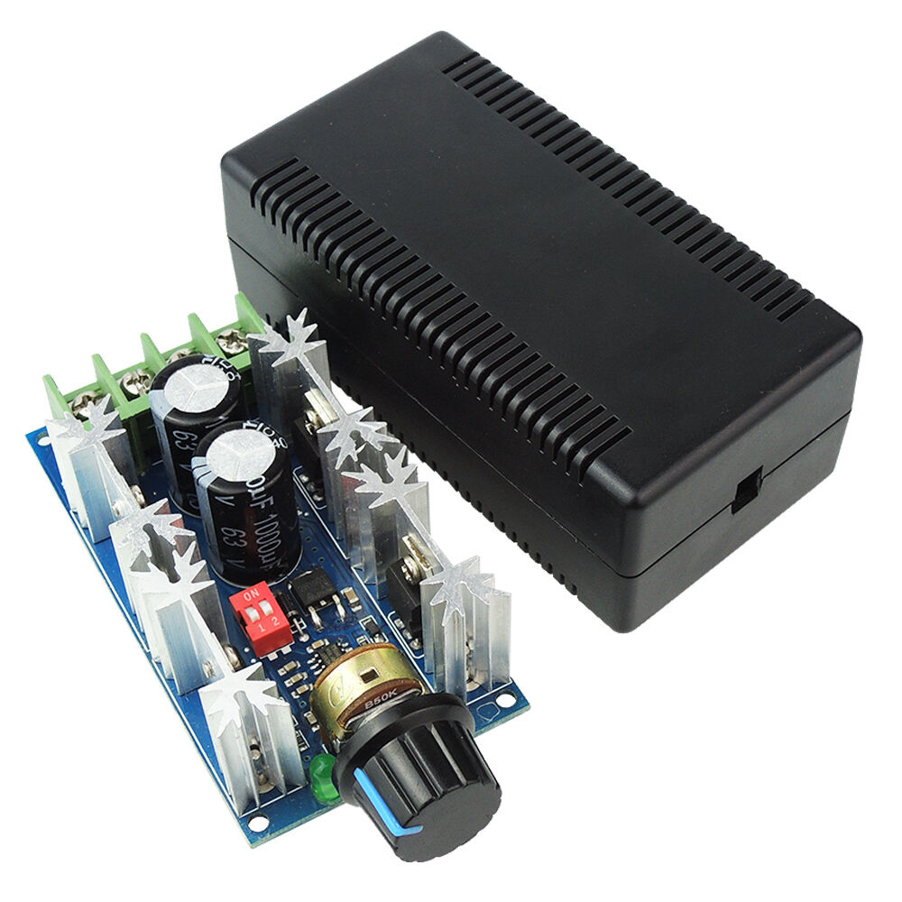 Dc motor speed controller 10v 50v max 40a 1000w hho pwm for Dc motor variable speed