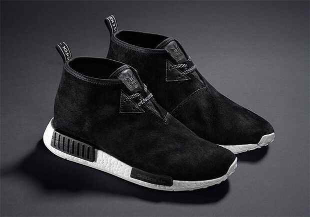 competitive price 6a747 7588c Details about Adidas NMD Nomad C1 Black Chukka Sizes 6 to 12 Availables  Boost Suede S79146
