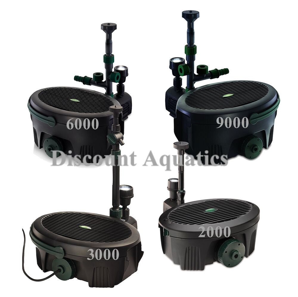 Blagdon inpond all in one pond pump filter submersible 2 3 for Blagdon affinity pond