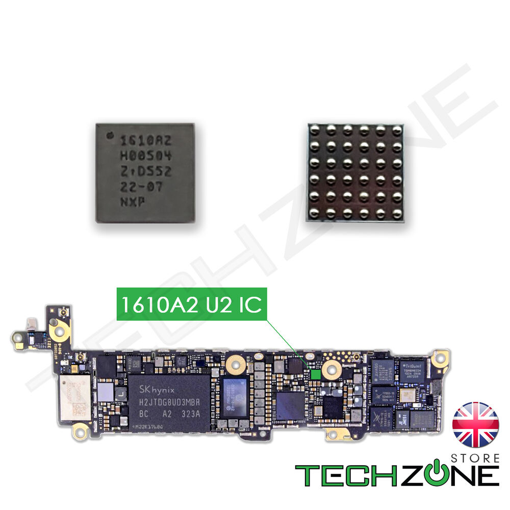 u2 charging ic 1610a2 for iphone 5s 5c iphone 6 6 plus. Black Bedroom Furniture Sets. Home Design Ideas