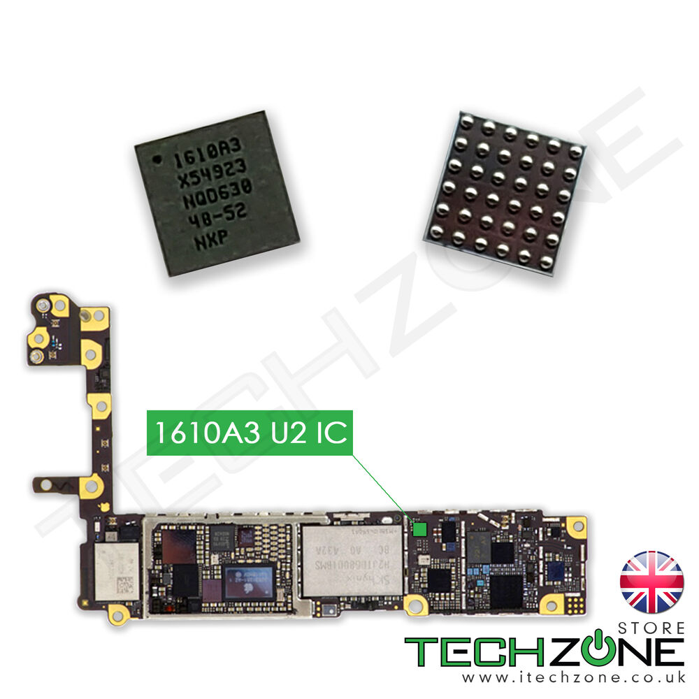 iphone 6 not charging u2 charging ic 1610a3 chip for iphone 6 6 plus se iphone 15005