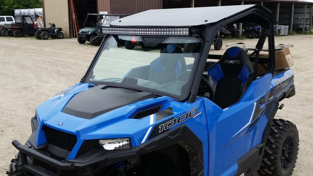 "Polaris Rzr Ebay >> POLARIS GENERAL 1000 LED LIGHT BAR KIT COMPLETE WITH 42"" CURVED LIGHT BAR UTV 