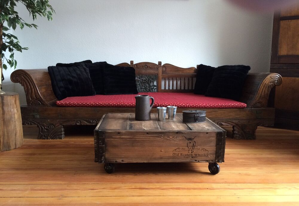 loft style industrial couchtisch vintage tisch raw coffeetable ebay. Black Bedroom Furniture Sets. Home Design Ideas