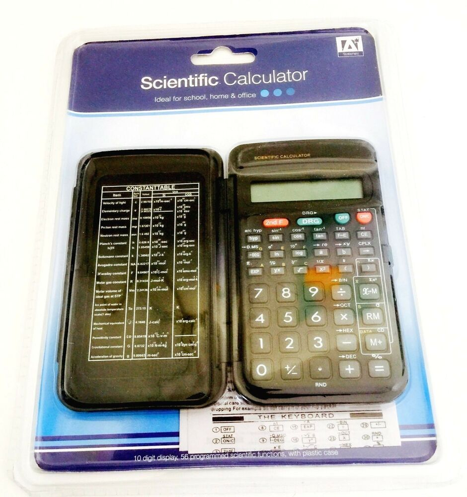 Scientific Calculator Fully Functional Office School Home
