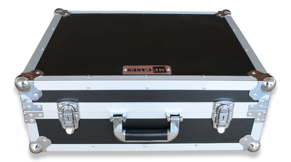 transport case koffer f r kleinteile werkzeug flightcase f r adapter dj ebay. Black Bedroom Furniture Sets. Home Design Ideas