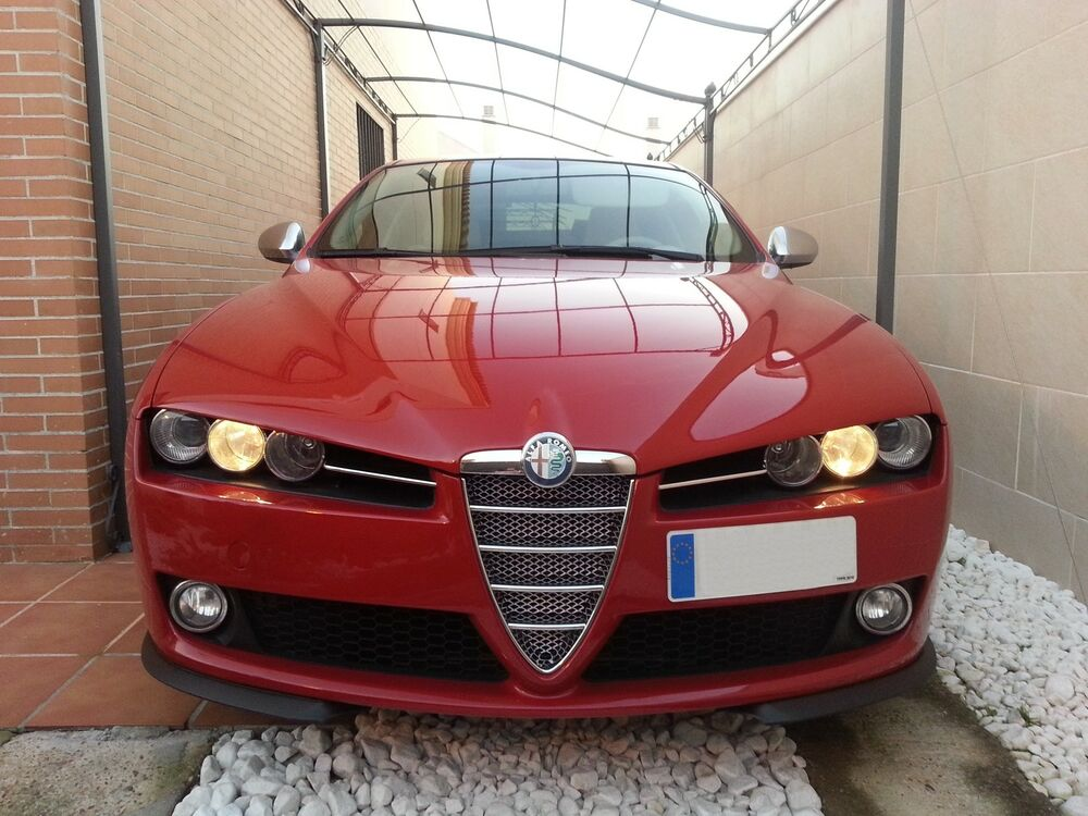 renngitter f r alfa romeo 159 k hlergrill grill tuning alu. Black Bedroom Furniture Sets. Home Design Ideas