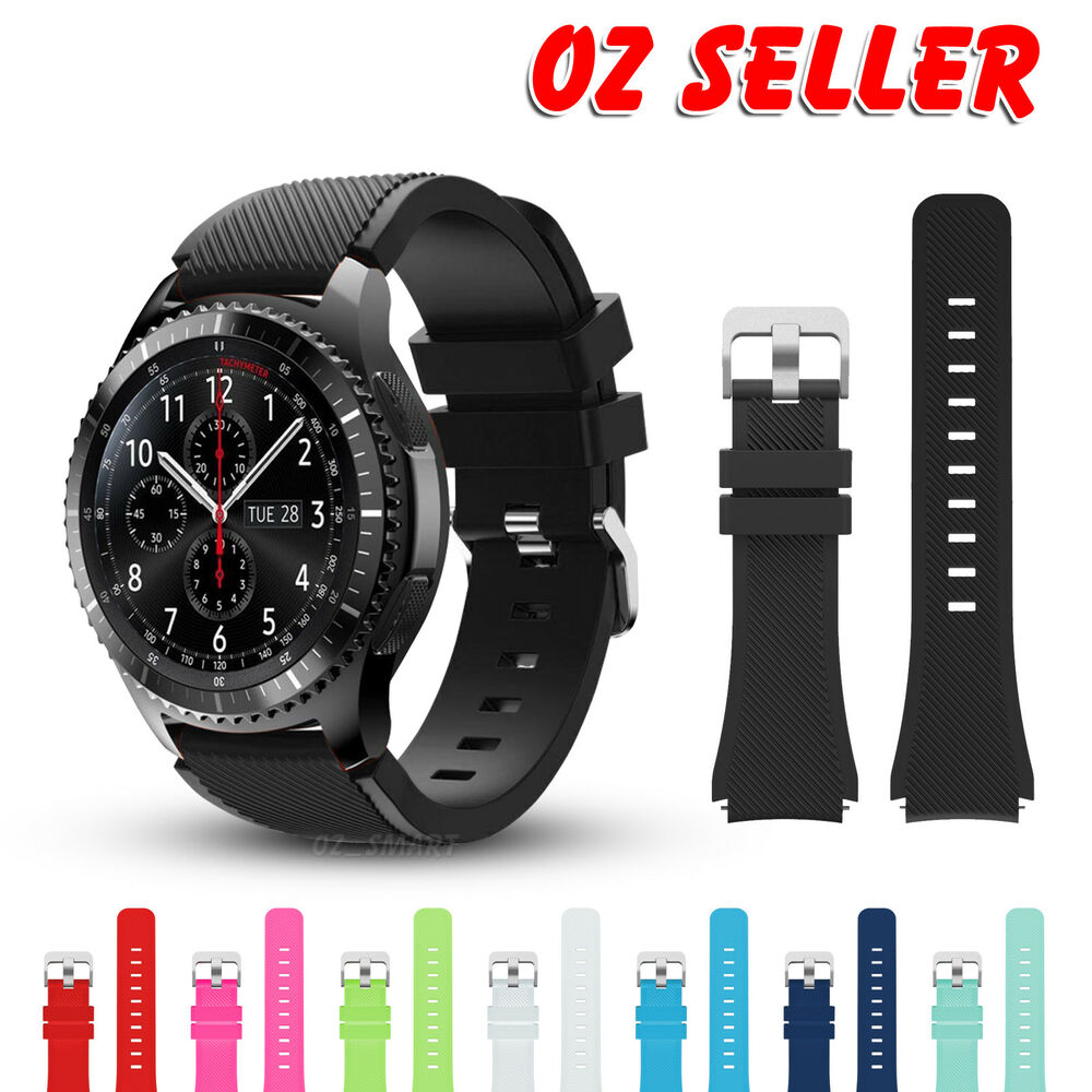 fashion sports silicone bracelet strap band for samsung gear s3 frontier classic ebay. Black Bedroom Furniture Sets. Home Design Ideas