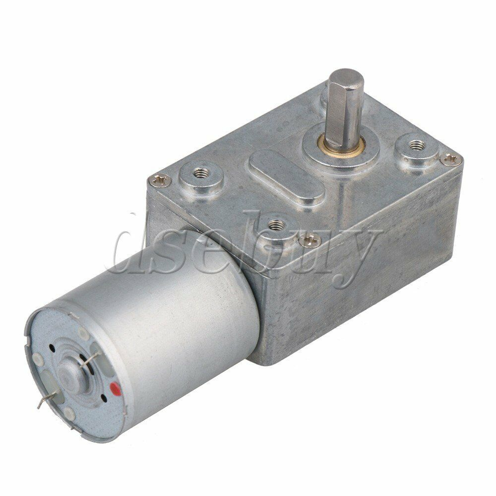 Dc 12v 260rpm electric power high torque turbo reducer for Right angle dc motor