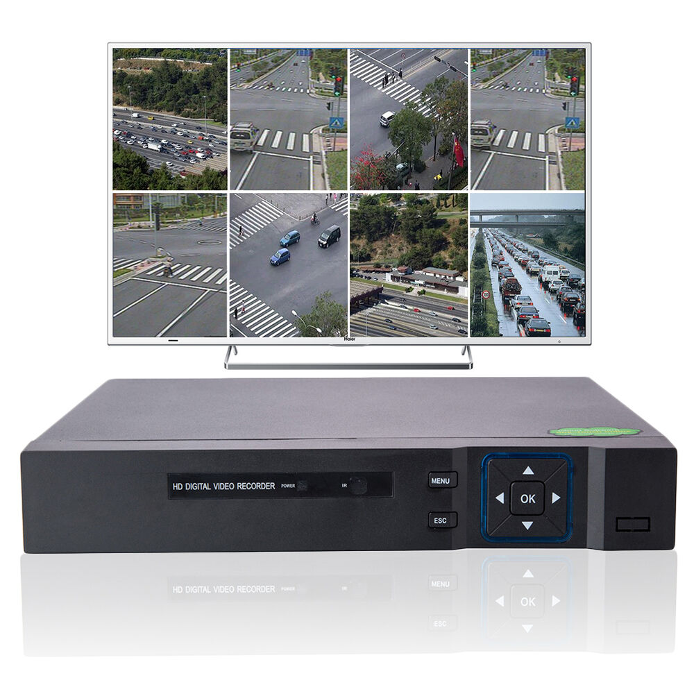 New 8ch Channel Digital Video Recorder 960h Hdmi Dvr For Security Cctv Camera Us
