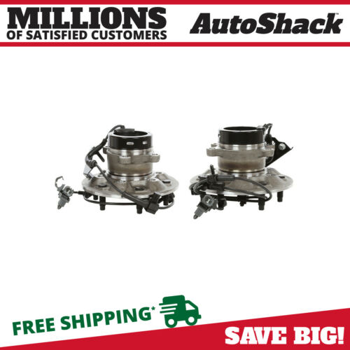 Front Pair (2) Wheel Hub Bearing Assembly Fits 2004-08 Chevrolet Colorado w/ABS