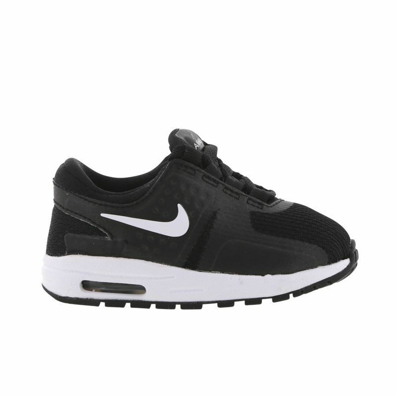 best service cf73d 26d0f Details about nike Air Max Zero Essential TODDLER BLACK WHITE US TD SIZES  881227-002