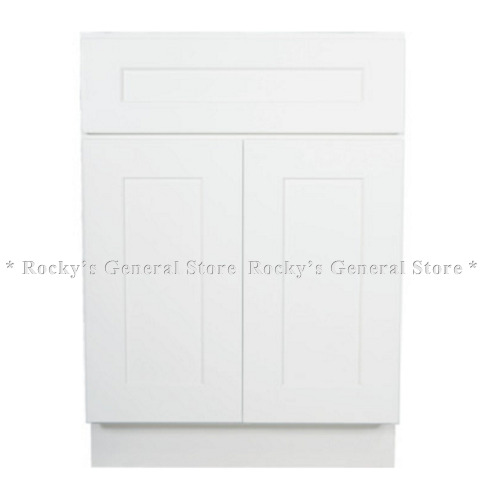Bathroom Vanity 24 X 21 24 white shaker bathroom vanity. shaker white vanity available in