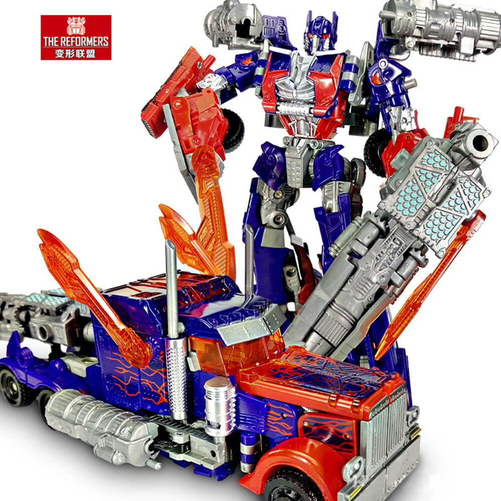 New Transformers Movie Voyager Optimus Prime Action Figure ...