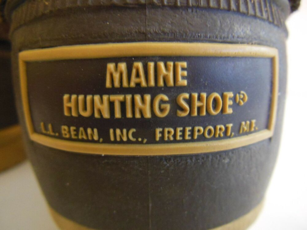 l l bean hunting boots duck rubber leather boot men 39 s 7 m ebay. Black Bedroom Furniture Sets. Home Design Ideas