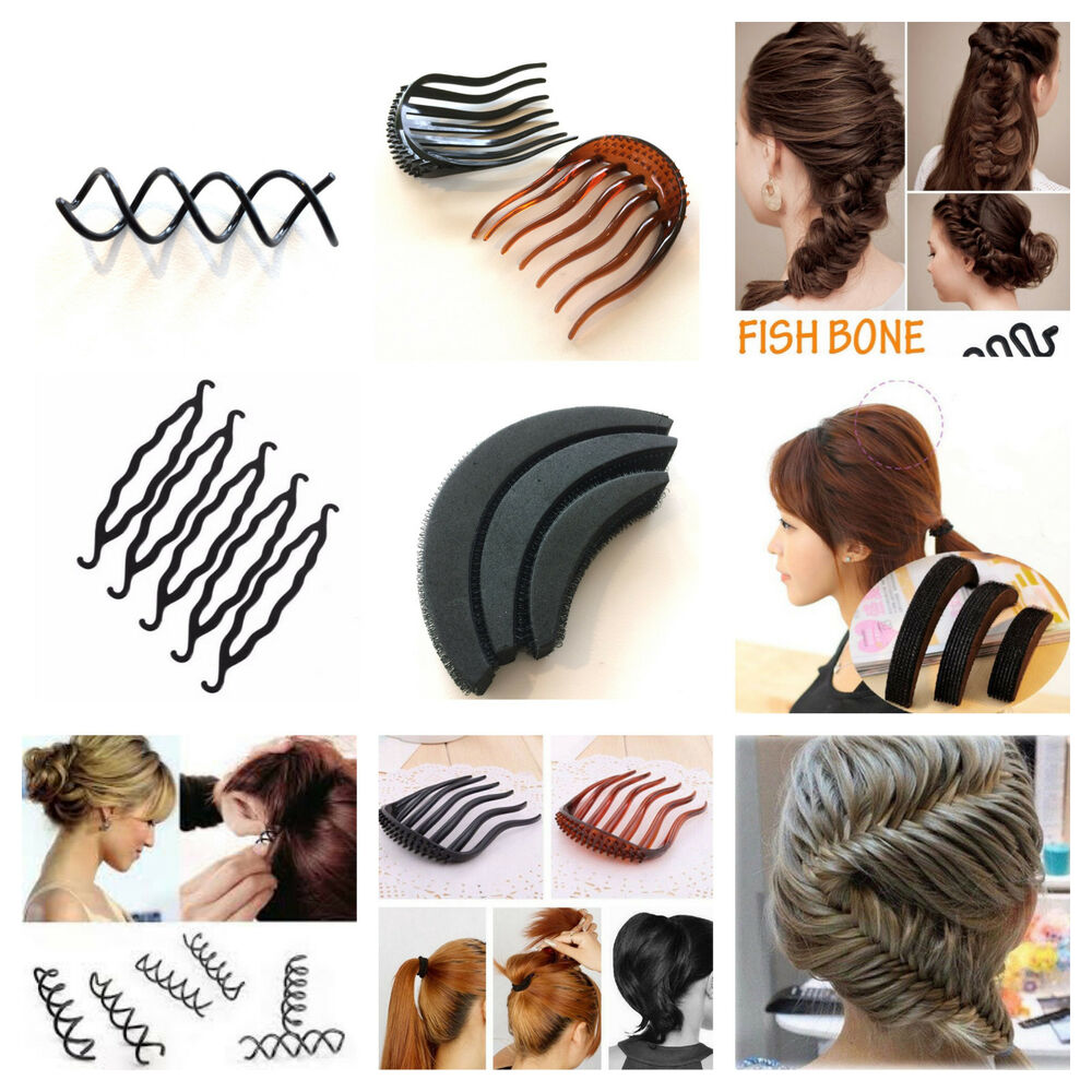 hair styling accessories bun hair styling accessories bun maker volume insert pin combe 5634