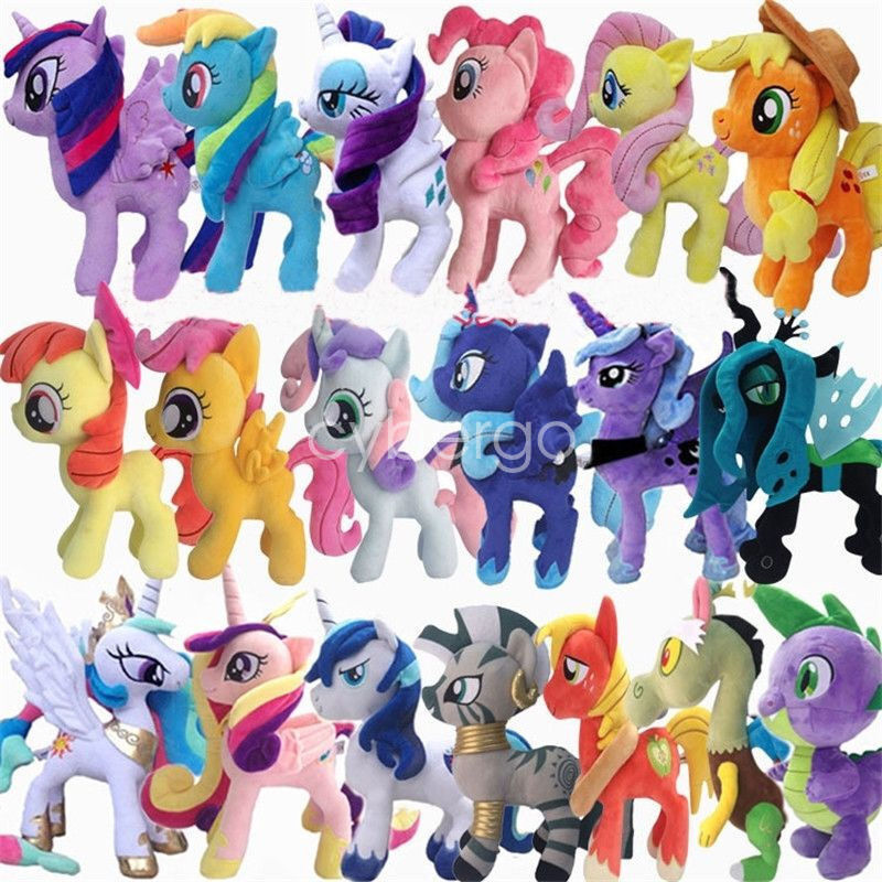 Best My Little Pony Toys And Dolls For Kids : My little pony large quot kids baby soft plush toys rainbow