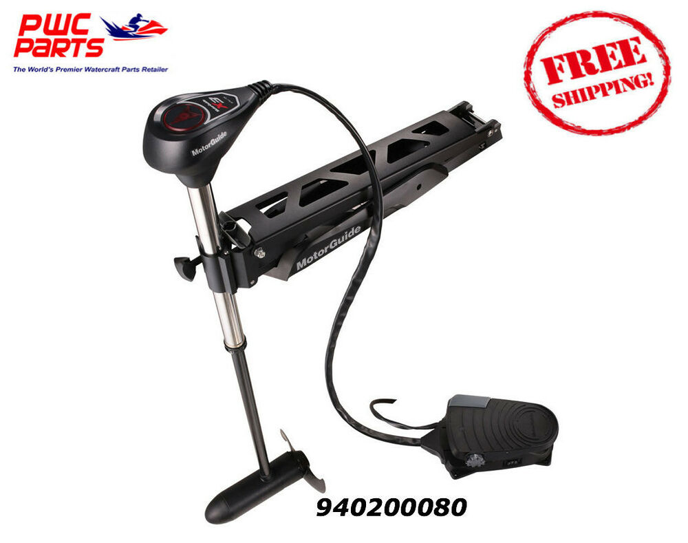 Motorguide x3 trolling motor freshw t r foot pedal 55lbs for Electric trolling motor accessories