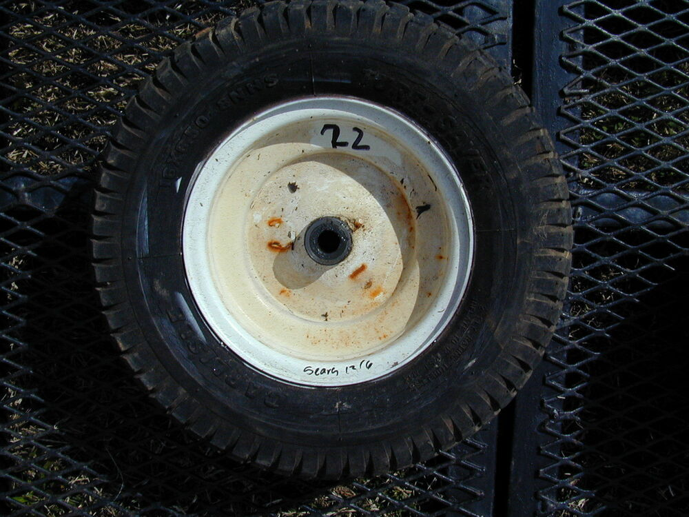 22 Sears 12 6 Riding Lawn Mower Front Wheel Tire 16 X 6