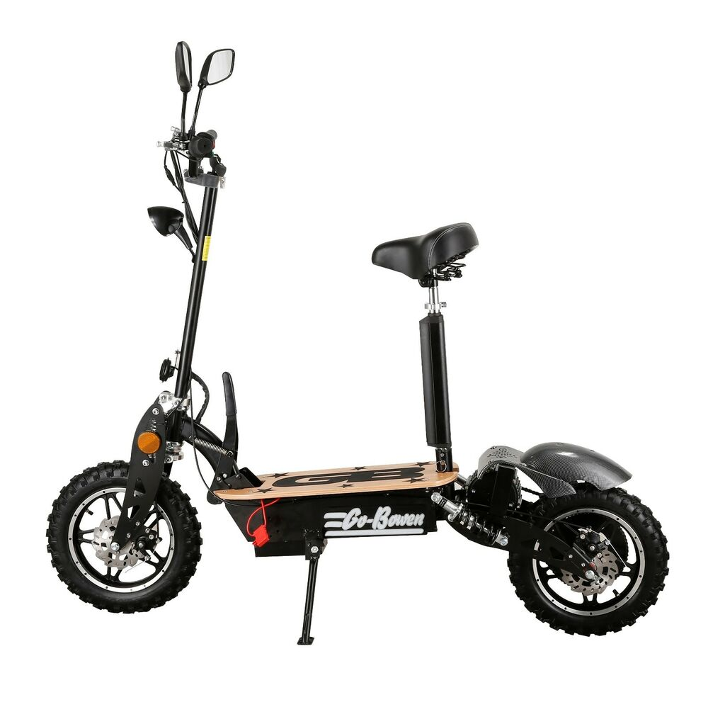 Teens adults electric powered 48v 1000 watt battery rideon for Motorized scooters for teenager