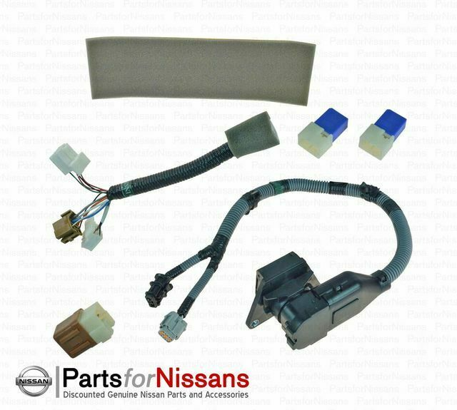 genuine nissan 2015 2017 frontier tow harness 7 pin. Black Bedroom Furniture Sets. Home Design Ideas