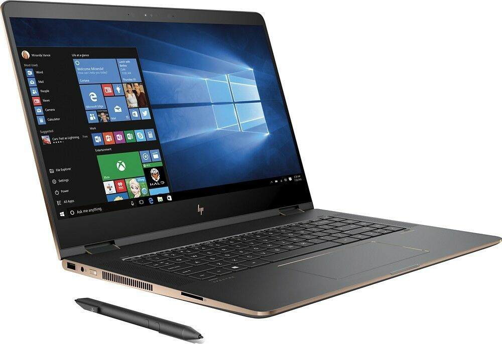 new 2017 hp spectre x360 15t touch convertible laptop. Black Bedroom Furniture Sets. Home Design Ideas