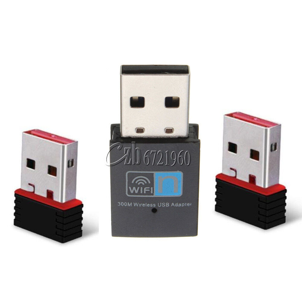 mini usb 150 300mbps wifi wireless adapter dongle network lan card ebay. Black Bedroom Furniture Sets. Home Design Ideas