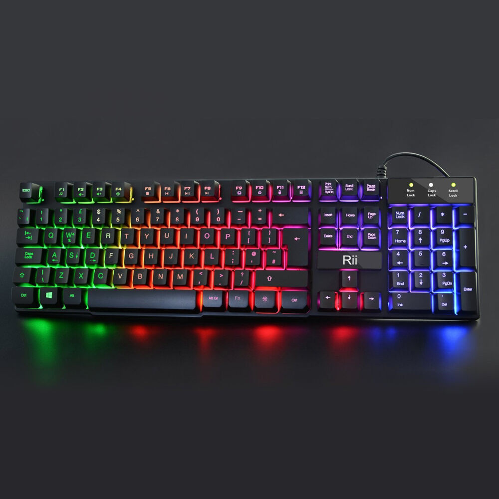 how to turn on gaming keyboard lights