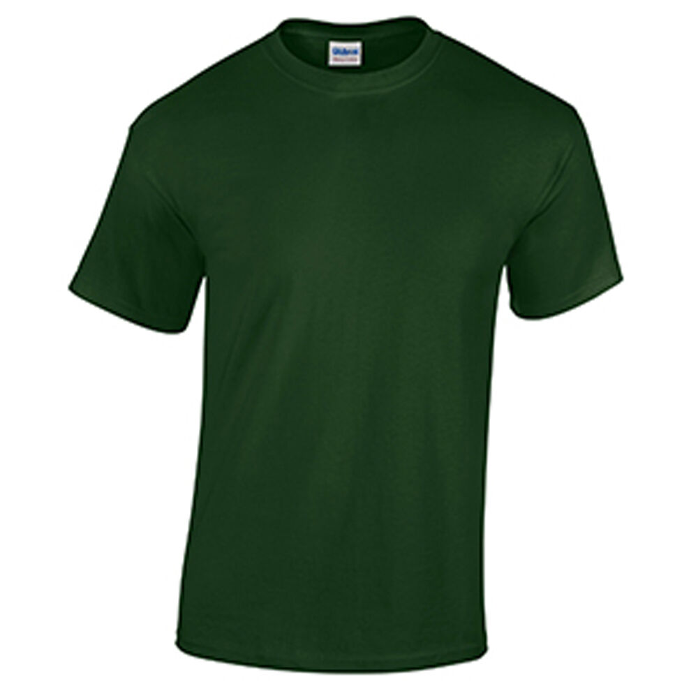 Forest Green Wholesale Blank Men 39 S T Shirt Casual Work