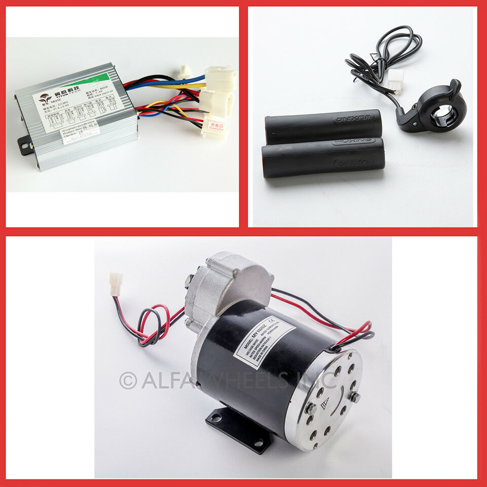 600 Watt 36 Volt Electric Gear Motor W Speed Controller
